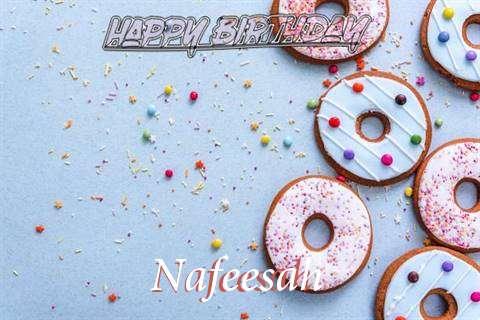 Happy Birthday Nafeesah Cake Image