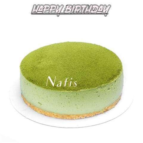 Happy Birthday Cake for Nafis