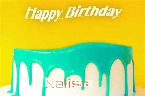 Happy Birthday Nafisa Cake Image
