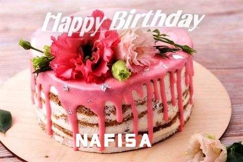 Happy Birthday Cake for Nafisa