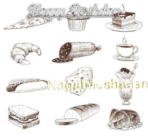Happy Birthday Cake for Nagabhushanam