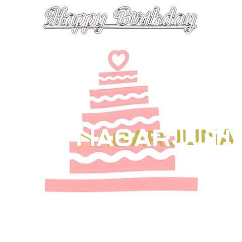 Happy Birthday Nagarjuna Cake Image