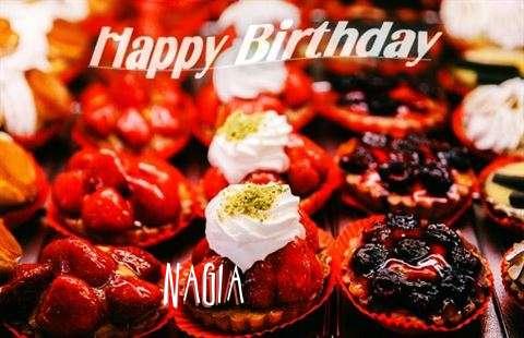 Happy Birthday Cake for Nagia
