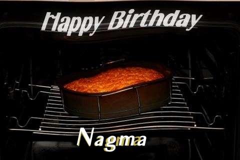 Happy Birthday Nagma Cake Image