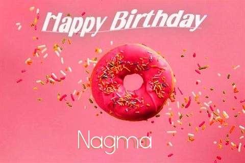 Happy Birthday Cake for Nagma