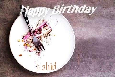 Happy Birthday Nahid