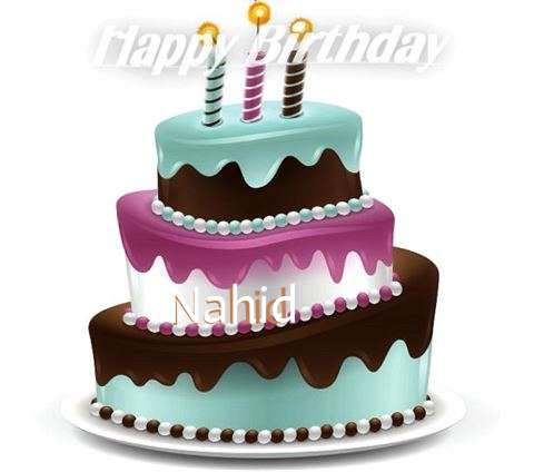 Happy Birthday to You Nahid