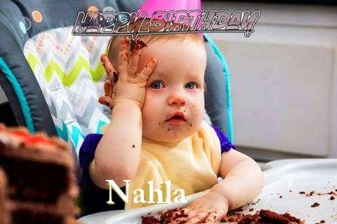 Happy Birthday Wishes for Nahla