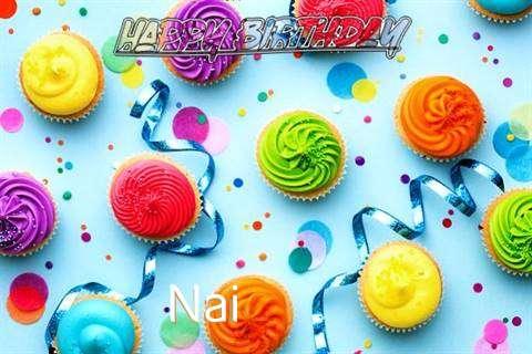 Happy Birthday Cake for Nai