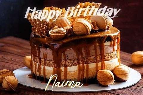 Happy Birthday Wishes for Naima