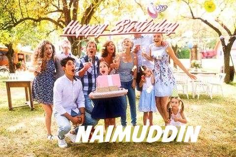 Happy Birthday Naimuddin