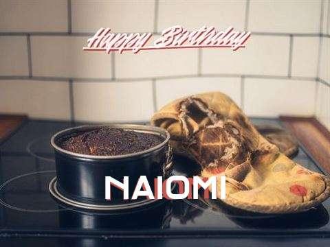 Happy Birthday Naiomi Cake Image