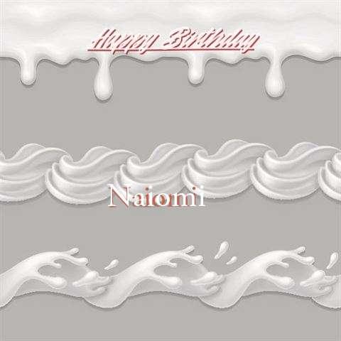 Happy Birthday to You Naiomi