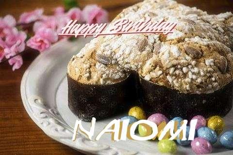 Happy Birthday Cake for Naiomi