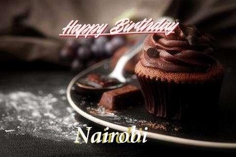 Happy Birthday Cake for Nairobi