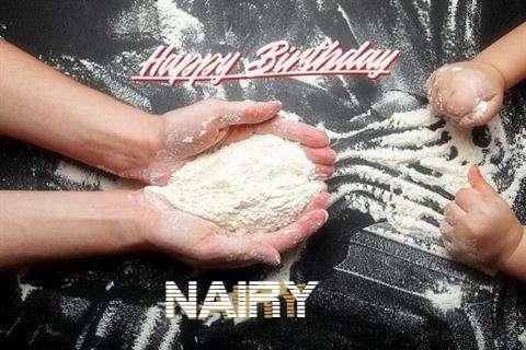 Happy Birthday Nairy Cake Image