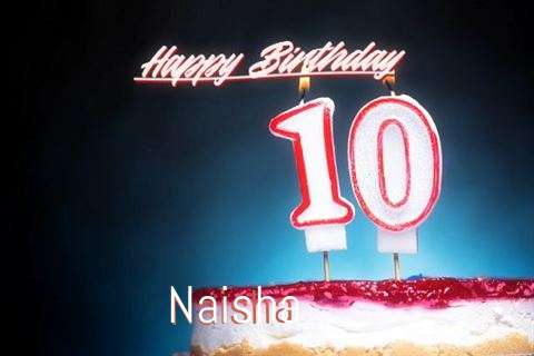 Birthday Wishes with Images of Naisha