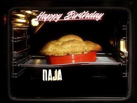 Happy Birthday Cake for Naja