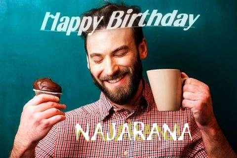 Happy Birthday Najarana Cake Image