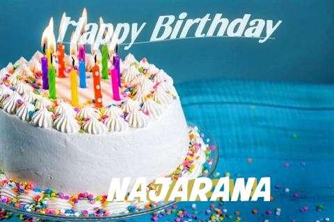 Happy Birthday Wishes for Najarana
