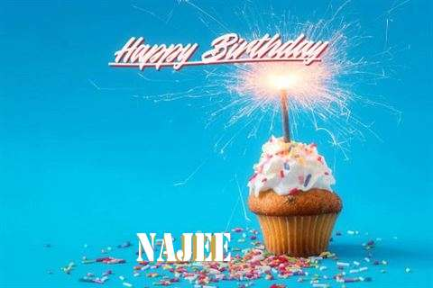 Happy Birthday Cake for Najee