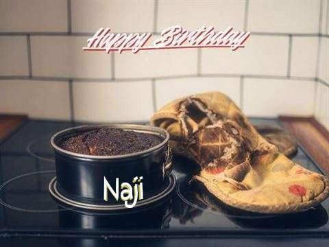 Happy Birthday Naji Cake Image