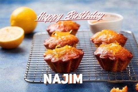 Birthday Images for Najim