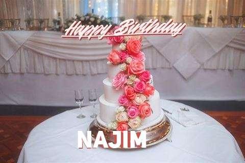Happy Birthday to You Najim