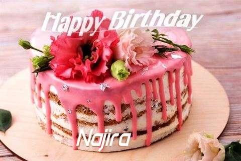 Happy Birthday Cake for Najira