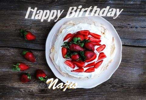 Happy Birthday to You Najis