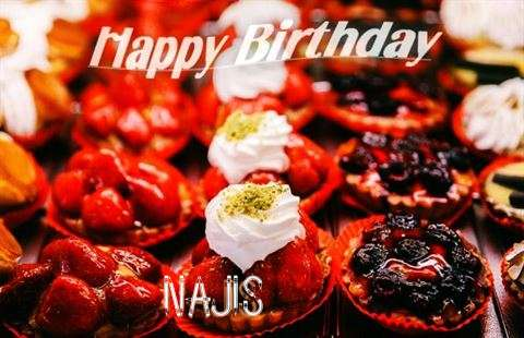 Happy Birthday Cake for Najis