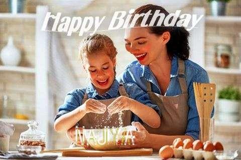 Birthday Wishes with Images of Najiya