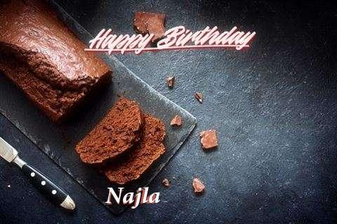 Happy Birthday Najla Cake Image