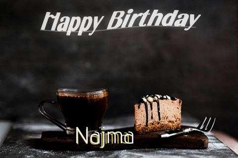 Happy Birthday Wishes for Najma