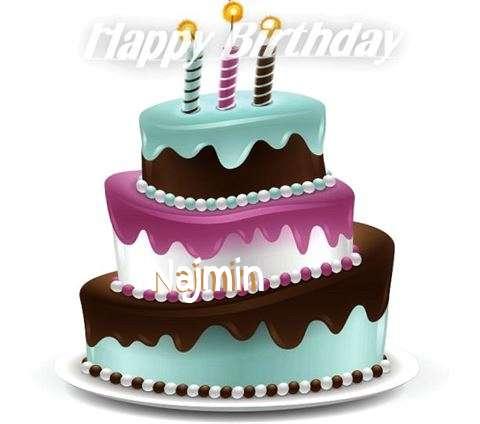 Happy Birthday to You Najmin