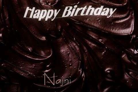Happy Birthday Najni Cake Image
