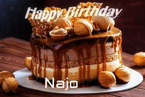 Happy Birthday Wishes for Najo