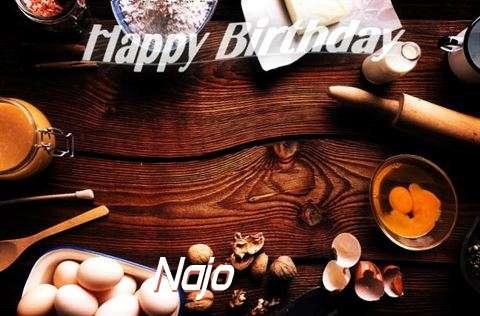 Happy Birthday to You Najo