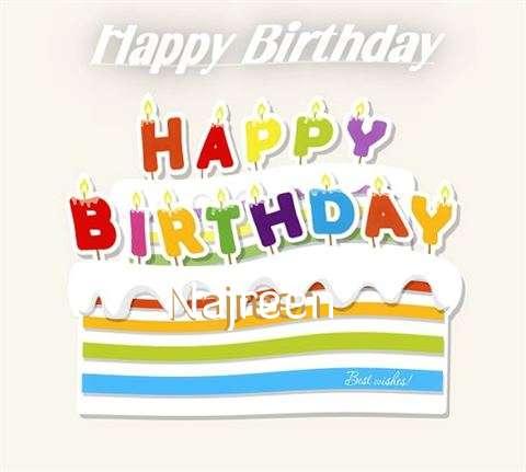 Happy Birthday Wishes for Najreen