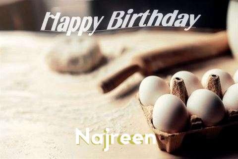 Happy Birthday to You Najreen