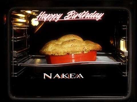 Happy Birthday Cake for Nakea