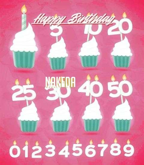 Birthday Images for Nakeda