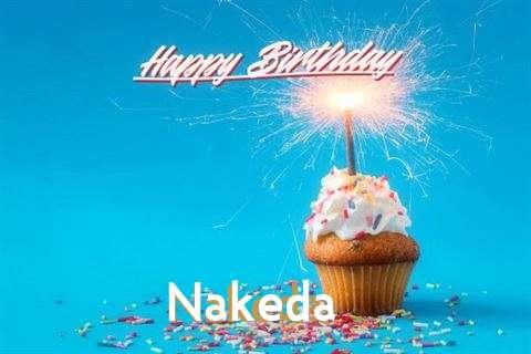 Happy Birthday Cake for Nakeda