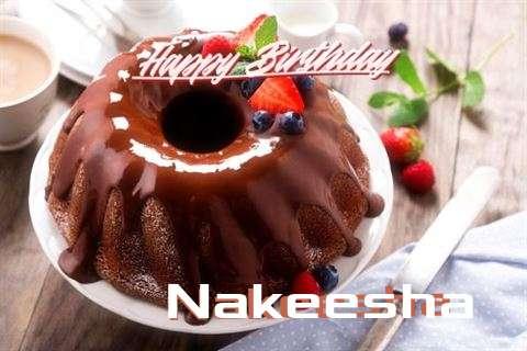 Happy Birthday Wishes for Nakeesha