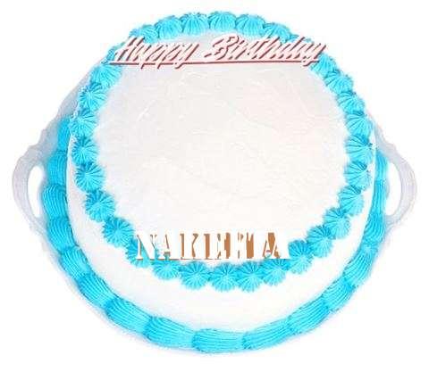 Happy Birthday Cake for Nakeeta