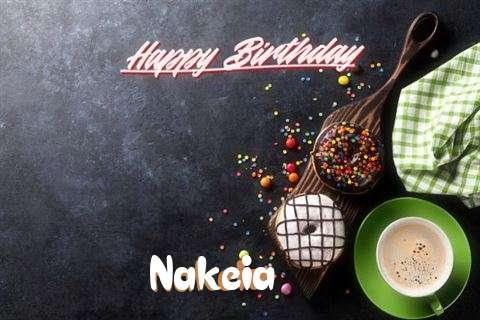 Happy Birthday Cake for Nakeia