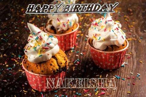 Happy Birthday Nakeisha Cake Image