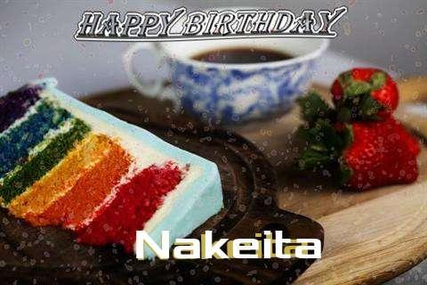 Happy Birthday Wishes for Nakeita