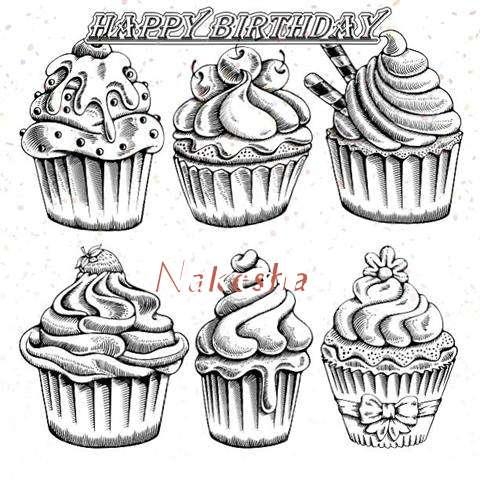 Happy Birthday Cake for Nakesha