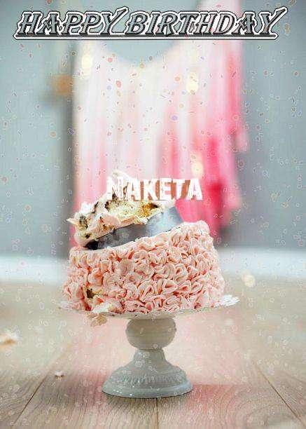 Birthday Wishes with Images of Naketa
